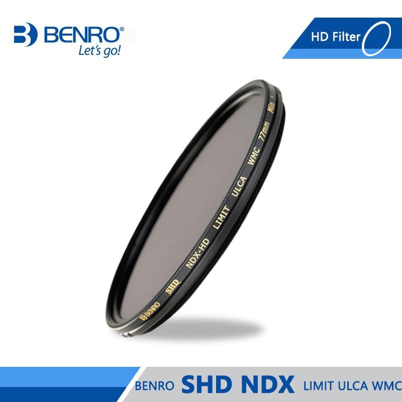 Benro SHD NDX HD LIMIT ULCA WMC Filter High Quality Optics ND Filters Waterproof Anti oil