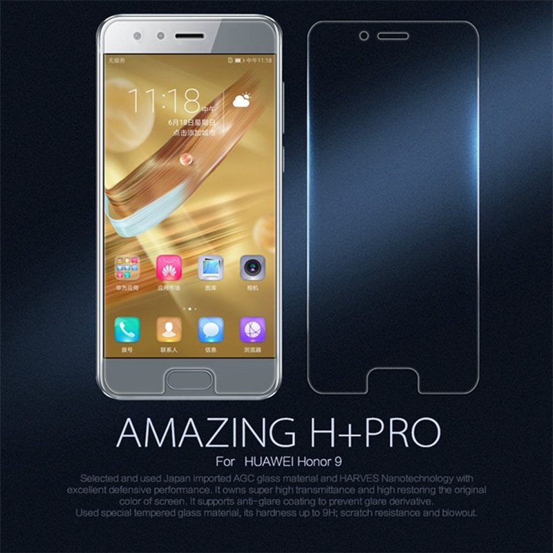 For Huawei Honor 9 Tempered Glass NILLKIN H+PRO 0.2mm Ultra thin Glass Film For Huawei Honor9 STF-L09 Dual Sim Screen Protector