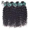 Hair 7A Malaysian Virgin Human Water Curly Hair 3Pcs/Lot Human Water Wave Hair Thick Malaysian Wave Virgin Hair Bundles