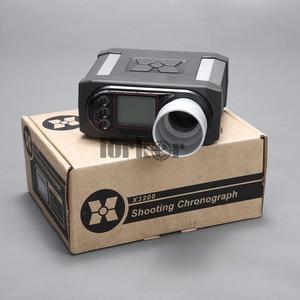 Image 2 - X3200 airsoft bb, testador de velocidade de bala, cronógrafo de tiro para caça, testador de tiro