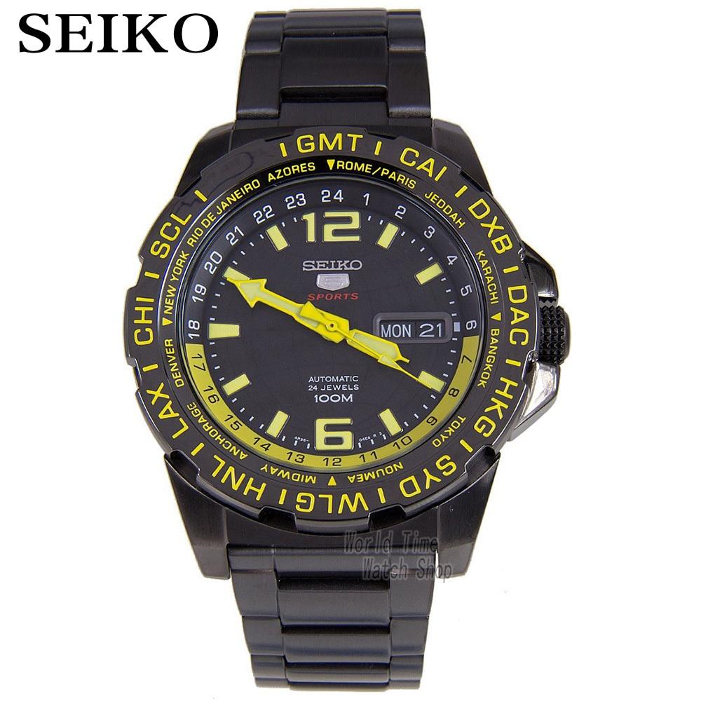 Seiko 5 спорт 24 камней автоматические Для мужчин смотреть сделано в Японии SRP685J1 SRP687J1 SRP689J1