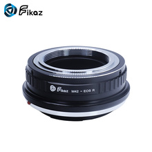 Fikaz For M42-EOS R Lens Adapter Ring for M42 Screw Lens Mount to Canon EOS R Camera Body