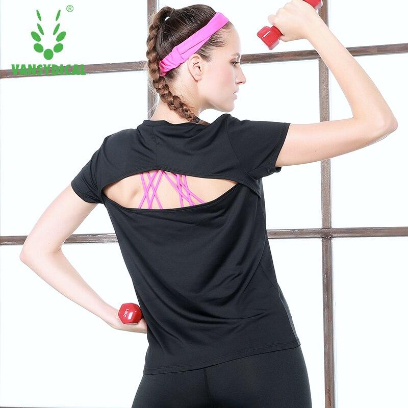 Donne Yoga Shirt Top Donna Sport Fitness Donna Palestra