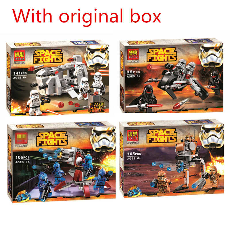 Star wars series 10365 10366 10367 10368 with original box building block toys for children My Style Compatibility