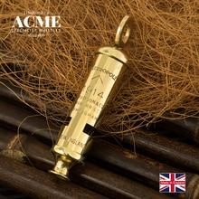 цены British original ACME1914 metal survival whistle fashion necklace pendant collection whistle sound clear loud survival whistle