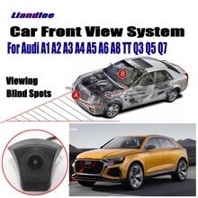 Liandlee Car Front View Camera For Audi A1 A2 A3 A4 A5 A6 A8 TT Q3 Q5 Q7 / 4.3