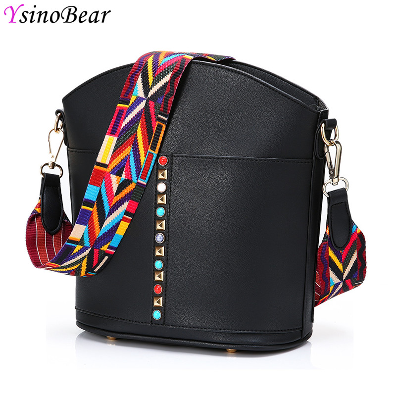YsinoBear 2018 Women Shoulder Bags High Quality PU Leather Tote Bag Luxury Ladies Messenger Bag Fashion Women Crossbody Bags