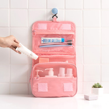 2019 Packing Cubes Waterproof Travel Large Capacity Storage Bag Portable Hook Wash Cosmetic Bag Fashion Travel Accessories недорого