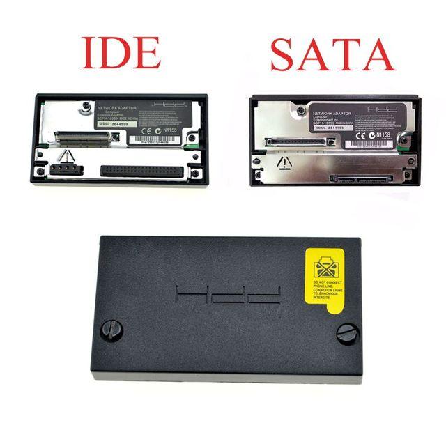 SATA HDD Adaptador de Rede Para PS2 Fat Console SCPH-10350 IDE Adaptador de Tomada Para Sony Playstation 2 Adaptador Gordura Acessórios de Jogos