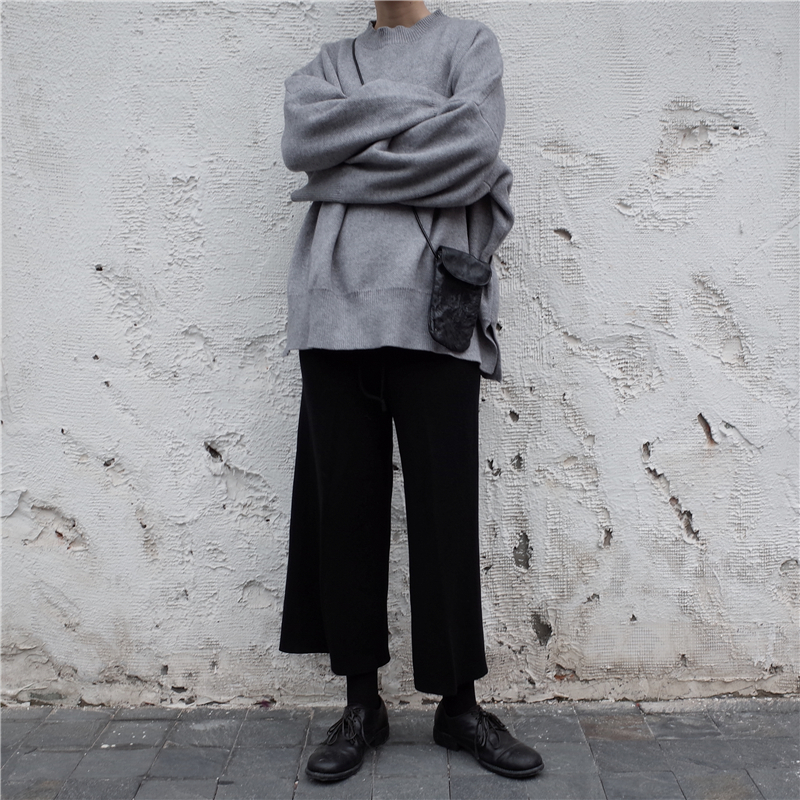 [EAM] 19 New Spring O Collar Full Sleeve Loose Casual Asymmetrical Large Size Kintter Puffover Women Fashion Tide OB275 6
