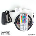 5M 300Leds Non-waterproof RGB Led Strip Light SMD5050 DC12V 60Leds/M Flexible Led Tape Diode String Ribbon Lamp Holiday Lighting