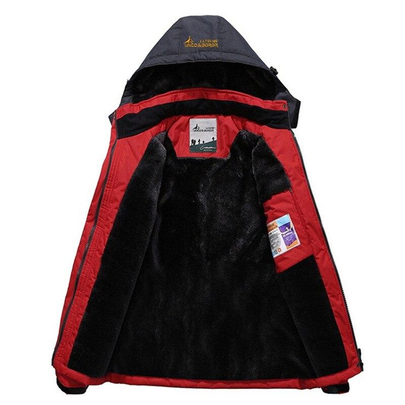 Meilleur laine Liner chaud hommes Camping randonnée en plein air veste d'hiver femmes, unisexe coupe-vent imperméable coupe-vent femmes veste en plein air - 5