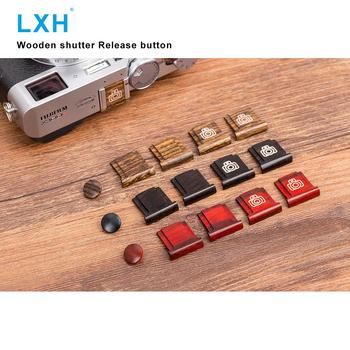 LXH drewniana powierzchnia aparatu miękki spust migawki z osłona gorącej stopki do Fujifilm Fuji XT20 X100F X-T2 X100T X-PRO2 X-T10 tanie i dobre opinie Wooden Shutter Release Button + Hot shoe cover Fujifilm XT20 X100F X-T2 X100T X-PRO2 X-T10 X20 X30 X-E2S 1 3g Red Yellow Black