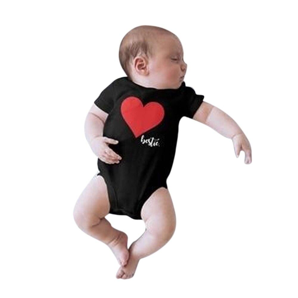 CALOFE famille correspondant vêtements coeur homme T shirt papa et tenues père fils papa bébé garçon enfants Look torridité frères 4
