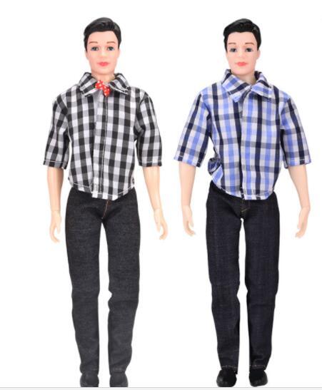 1PC 1/6 30cm Ken Boy Doll With Clothes Suit DIY Toys For Children Casual Wear Ken Dolls