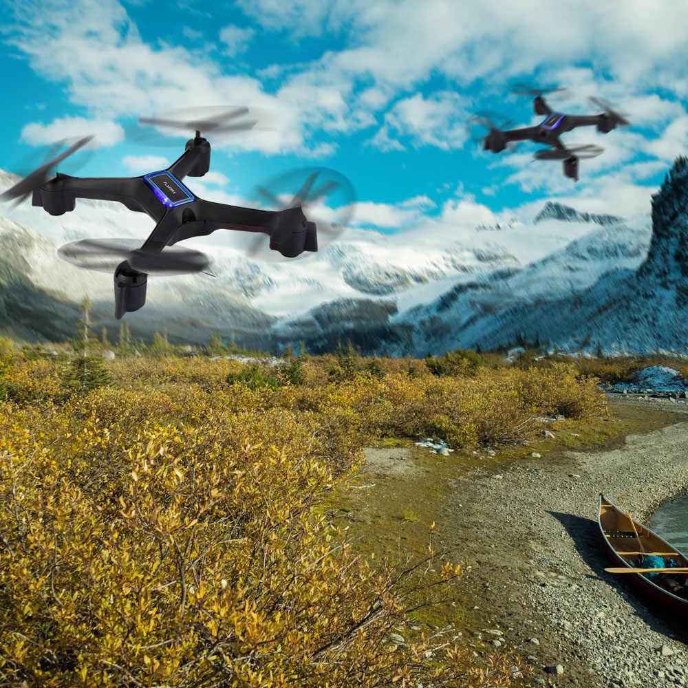 "Flymax 2 WiFi Quadcopter RC מזלט 2.4G WIFI FPV הזרמת מל ""טים רחב זווית HD מצלמה גבוהה להחזיק מצב מסוקים מזל"" טים ילדים צעצוע"