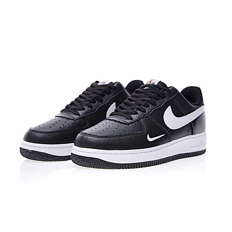 1860d9eb ... Оригинальные аутентичные Nike Air Force 1 Low Mini Swoosh Мужская обувь  для скейтбординга спортивные уличные кроссовки ...