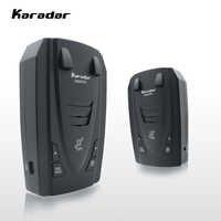 Os detectores de radar de karadar str g820 conduziram 2 em 1 detector de radar para a rússia com carro de gps anti radares velocidade da polícia auto x ct k la