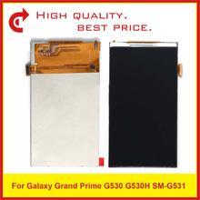 10 ピース/ロットオリジナル品質サムスンギャラクシーグランド首相 SM G530 G530 G530F G530H SM G531 G531 G531F G531H 液晶表示画面