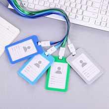 Casual Business Credit Card ID Holders Bag Women Men Travel Plastic Bank Bus Credit Card Holder