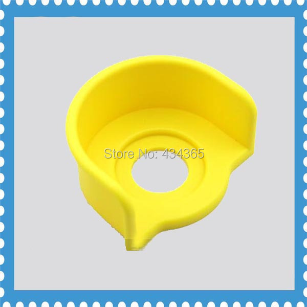 10pcs 22mm emergency stop push button protective cover outer diameter 90mm plastic shield