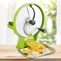 ITOP Multi function slicers Home shake fruit and vegetable slicer Potato lemon slices With 3 food Inlets Vegetable Fruit Tools