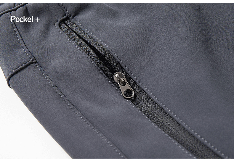 Men's Winter Pants Male Stretch Warm Thick Fleece Lining Trousers Mens Windproof Waterproof Softshell Pants For Men AM366 11