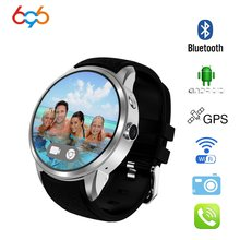 696 X200 Android 5.1OS Smart watch 1.39 inch Display MTK6580 SmartWatch Phone support 3G wifi nano SIM WCDMA whatsapp MP4 player(China)