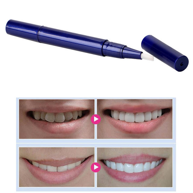Teeth Whitening Pen Escova Gel Clareador De Dente Limpeza