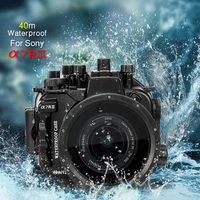 Mcoplus 40m/130ft Waterproof Diving Underwater Camera Housing Case For Sony Alpha A7RIII