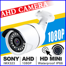 Full HD 720/960/1080P Cctv Waterproof IP66 NANO AHD Camera HD 2.0MP Analog Camera Night Vision IR 30 Mt Cctv Camera For AHD DVR