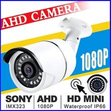Full HD 720/960/1080 P видеонаблюдения Водонепроницаемый IP66 NANO AHD Камера HD 2.0MP аналоговый Камера Ночное видение ИК 30 Mt Cctv Камера для AHD DVR