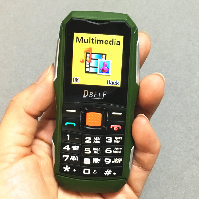 1 5 screen DBEIF F7 Russian keyboard gsm phones push button mobile phone cheap Phone china