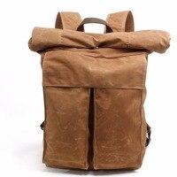 2016 Men S Batik Canvas Bag New Retro Simple Street Trend Personality Backpack Men S