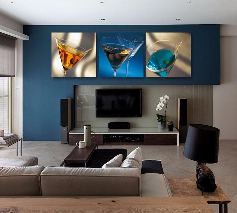 ᗕ3 panel moderno impreso pintura cuadro en la cocina decoración ...