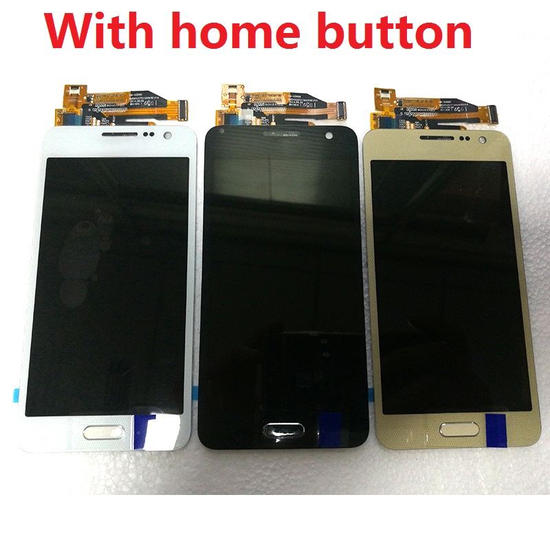 For Samsung Galaxy A3 A300X A300 A300H A300F A300FU LCD Display Touch Screen Digitizer Sensor Assembly + Adhesive + kits