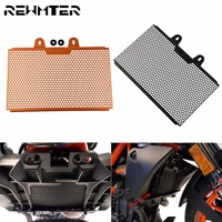 Motorcycle Radiator Guard Covers Guard Stainless Steel Protection Motor Protetor Paint Grill For KTM Duke 390 2017 2018