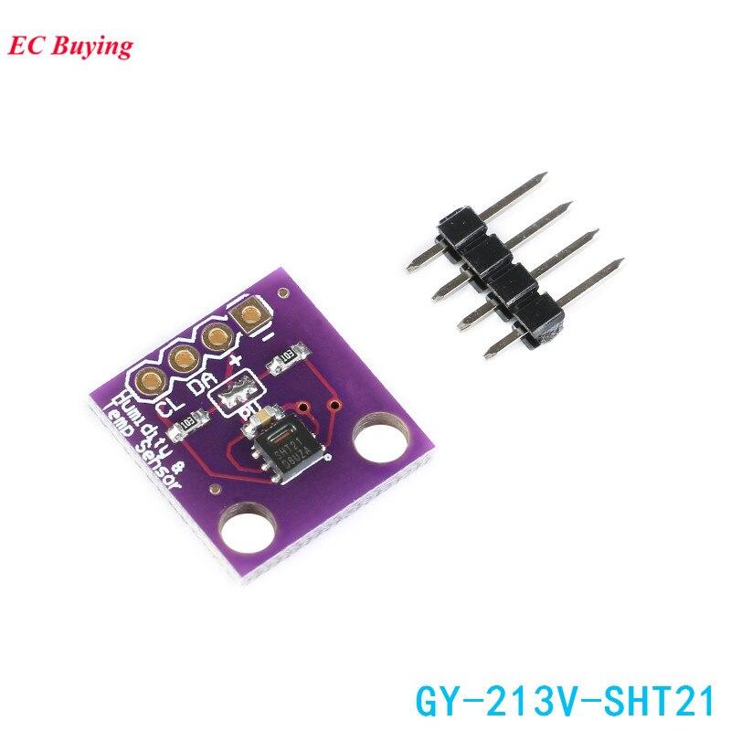 SHT21 font b Sensor b font Module GY 213V SHT21 Humidity Temperature font b Sensor b