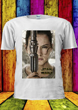 Star Wars Slave Leia Force Awakens T-shirt Vest  Men Women Unisex 2252 Free shipping Harajuku Tops Fashion Classic Unique
