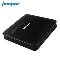 Джемпер ezbox Z8 Мини ПК четырехъядерный процессор Intel Atom X5 Z8350 1,44 ГГц 2 ГБ/32 ГБ Windows 10 Мини компьютер 2,4G/5G, Wi Fi, 1000 M LAN разъем HDMI VGA
