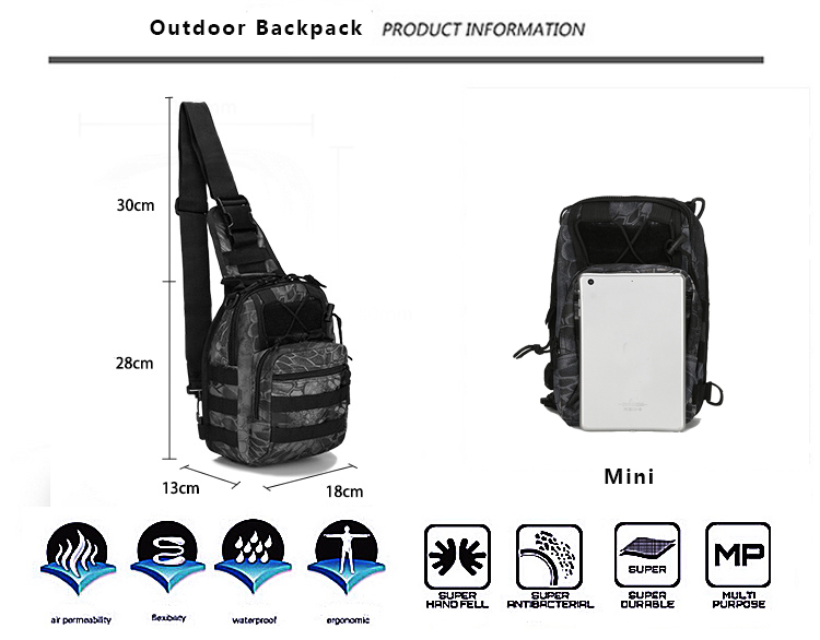 HTB1bm.OajLuK1Rjy0Fhq6xpdFXaW Facecozy 2019 Outdoor Sports Military Bag Climbing Backpack Shoulder Tactical Hiking Camping Hunting Daypack Fishing Backpack
