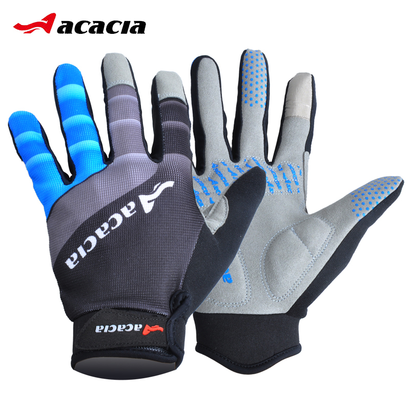 Γάντια ποδηλασίας με οθόνη αφής Αδιάβροχα αθλητικά Ποδήλατα ποδηλάτου Πλήρης γάντια δάχτυλα Χειμερινά ζεστά αθλητικά μακριά γάντια 03943