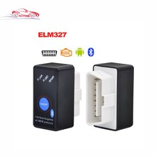 Super Mini ELM327 Bluetooth ELM 327 OBD2 CANBUS diagnostic tool with Switch Works on Android Symbian Windows In stock