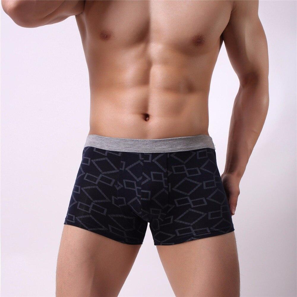 Best Price Cotton Men Boxer Soft Breathable Underwear Male Comfortable Solid Panties Underpants Boxer Shorts Homme For Men 2019