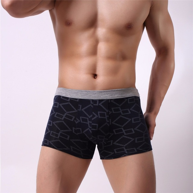 Men Boxer Soft Breathable Underwear