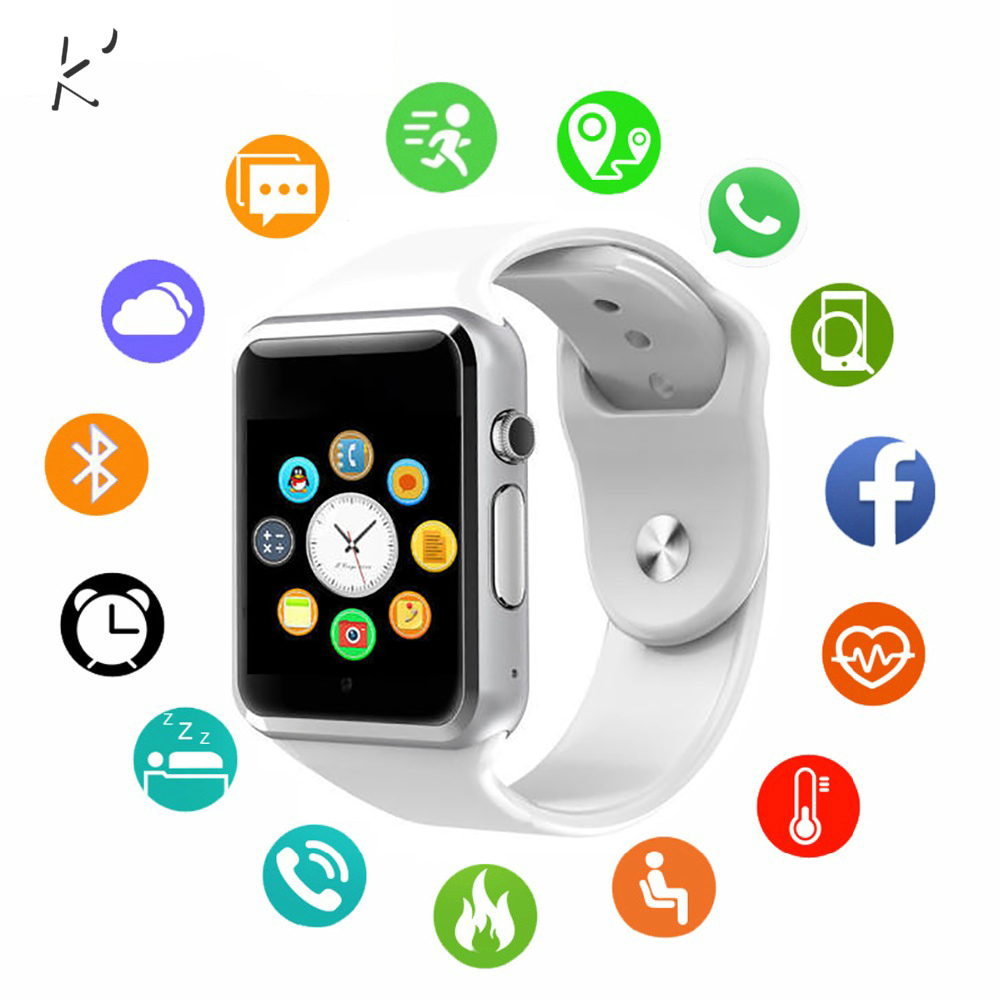 K' 2019 New Smart Watch Clock Sync Notifier Support SIM TF Card Connectivity Apple Iphone Android Phone Smartwatch GT08 DZ09 U8