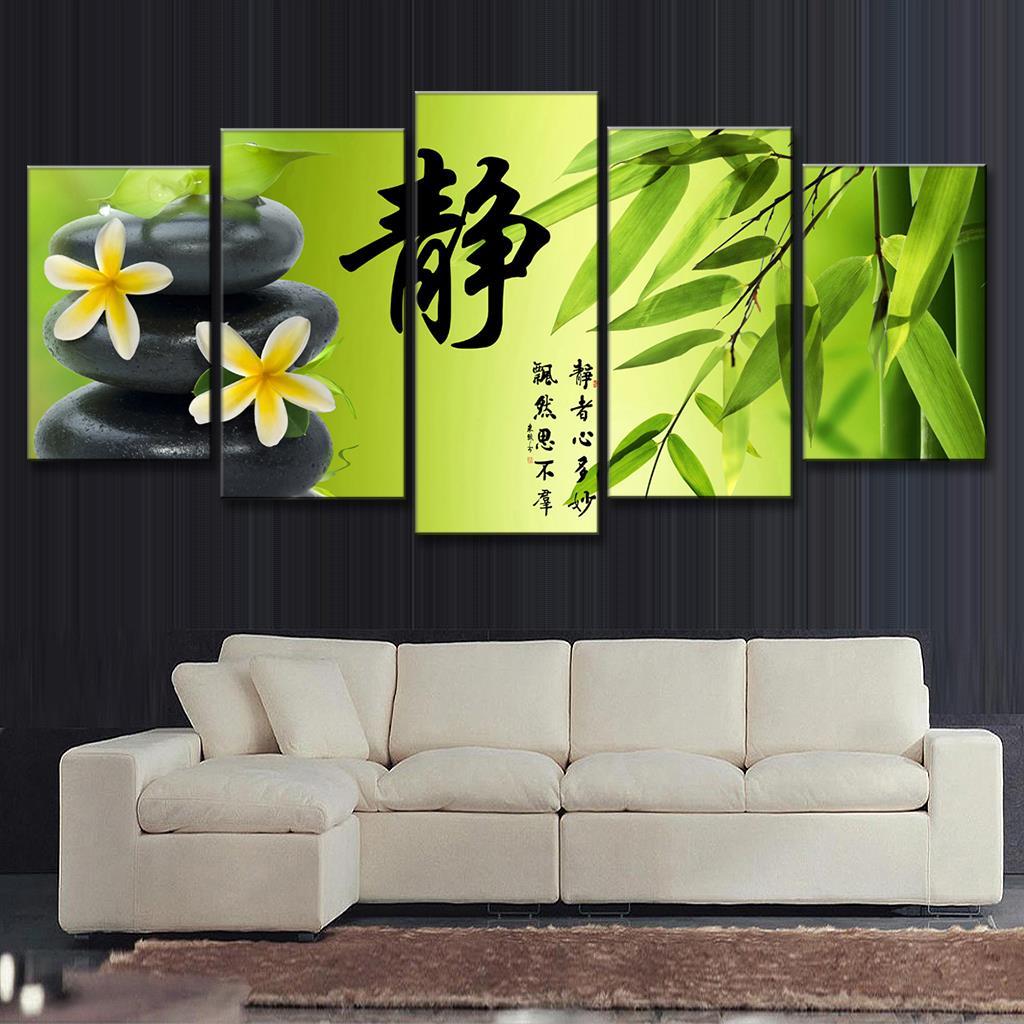 Online kopen wholesale bamboe muur opknoping uit china bamboe muur ...
