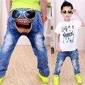 Дети брюки джинсы для мальчики весна осень дети одежда брюки брюки для мальчики