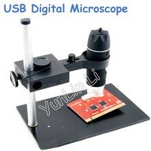 Big discount 1X-500X USB Digital Microscope + Holder 8-LED Endoscope with Measurement Software USB Microscope