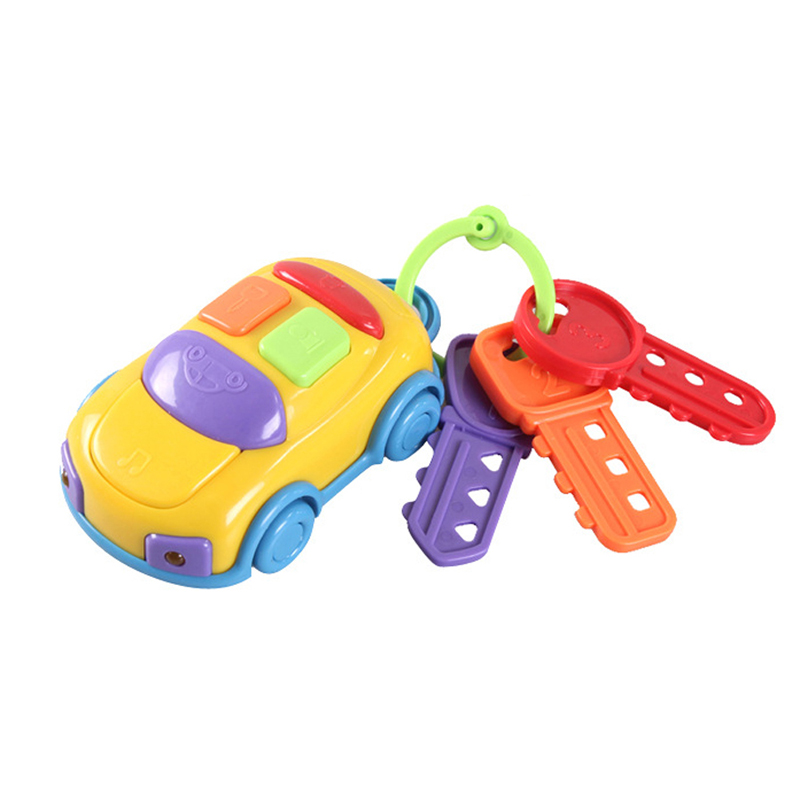Car Wheel Are Slidably Newborn Music Key Car Colorful Color Baby Toys Perception Exercises Cars Kids Toys For Baby Born